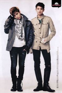 Jonghyun and Minho - SHINee