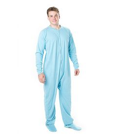 Footed Pajamas Blue 'U.S. Navy' Footed Pajamas - Adults | Us navy ...