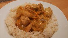 Allerlei Rezepte und mehr: Honig-Senf-Pute auf Reis