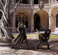magali-villeneuve // trained for war. Boromir and Faramir