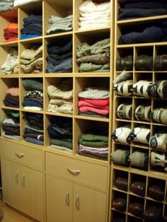 For all my clothes. Will this be enough room? Probably not.