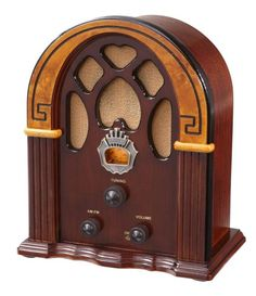 Crosley CR31-WA Companion Retro AM/FM Radio with 1 Full-Range Speaker (Walnut & Burl) Crosley http://www.amazon.com/dp/B000EU02YK/ref=cm_sw_r_pi_dp_x1fgub05THC1Z