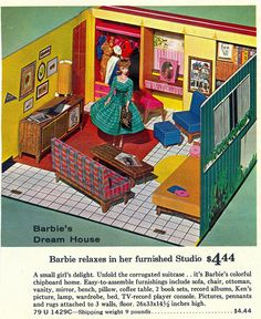 Barbie's First Dream House, 1962