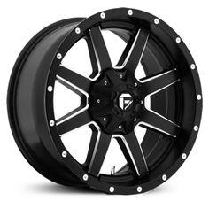 Fuel Maverick D538 Matte Black Milled Wheels & Rims
