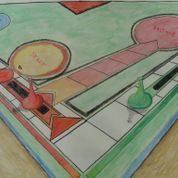 Perspective - Observational Drawing of game