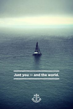 If you're looking for travel inspiration you've come to the right place. I dream about seeing the world and these pictures are a good push in the right direction.I don't own any of these pictures unless stated otherwise. Sailing Quotes, Sail Away, Adventure Is Out There, Oh The Places You'll Go, Belle Photo, Travel Quotes, Travel Around, Travel Inspiration, Beautiful Places