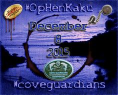 TAIJI. December 9, 2015: BLUE COVE!!! @CoveGuardians ‪#‎OpHenkaku #‎SeaShepherd‬ ‪#‎FromTaijiToTanks ‪‬‬‪‬‬#‎tweet4taiji