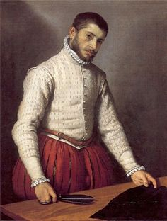 """Portrait of a Man """"The Tailor"""" by Moroni - see blog under Art & Music at medmeanderings.com"""