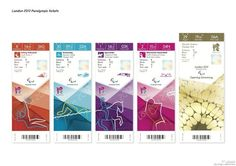 2012倫敦奧運門票(防偽機關