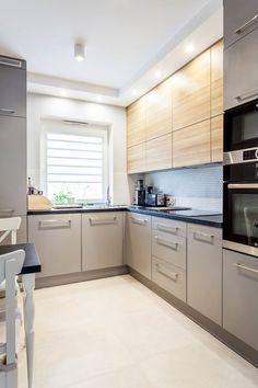 Grey Kitchens, Home Kitchens, Kitchen Interior, Kitchen Design, Flat Ideas, Home Studio, Kitchen Storage, Kitchen Remodel, House Plans