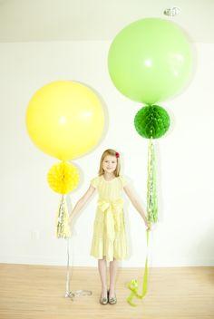 Cute balloon ideas...