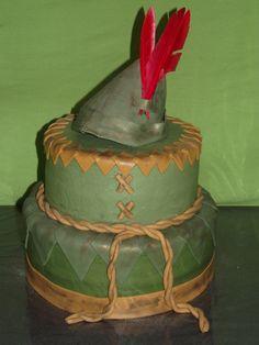 Peter Pan or Robin Hood cake Disney Peter Pan, Peter Pan And Tinkerbell, Marine Cake, Peter Pan Cakes, Peter Pan Party, Cupcake Cakes, Cupcakes, Character Cakes, Cake Board
