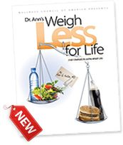 """Dr. Ann Kulze is our monthly nutrition expert - and her brand new book, """"Weigh Less for Life"""" can help you achieve your weight maintenance goals!"""