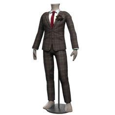 Jacques Plaid Grooms Suit