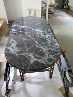 Home and Family Marble Painting, Faux Painting, Marble Furniture, Paint Furniture, Faux Walls, Faux Stone, New Home Designs, Wall Treatments, Decoration