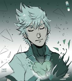 """""""Ventus"""" Single color palette by Thank Your Lucky Stars ☆ Character Ventus from Birth By Sleep Kingdom Hearts video game"""