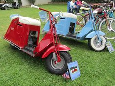 I want a Cushman motor scooter!