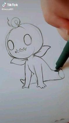 Art Drawings Sketches Simple, Pencil Art Drawings, Doodle Drawings, Doodle Art, Cute Drawings, Ghost Drawings, Cap Drawing, Drawing Legs, Number Drawing