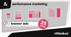 Tauchen Sie mit uns ein in die 25-jährige Geschichte des polarisierendsten Stückes #digitaler #Werbung 🤩 Performance Marketing, Web Design, Banner, Ecommerce, Blog, Advertising Strategies, Diving, Advertising, History