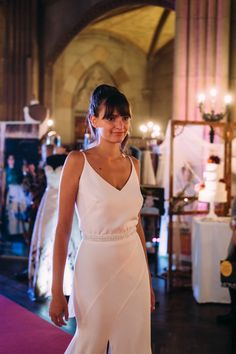 Bridal Catwalk auf der Magic Moments Hochzeitsmesse in der Elisabethenkirche Basel.  9. + 10. November 2019 Basel, November, White Dress, Dresses, Fashion, Switzerland, White Dress Outfit, Vestidos, Moda