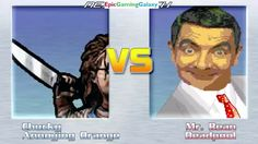 Deadpool & Mr. Bean VS Chucky The Killer Doll & The Annoying Orange In A MUGEN Match / Battle This video showcases Gameplay of Mr. Bean And Deadpool VS Chucky The Killer Doll From The Child's Play Series And The Annoying Orange In A MUGEN Match / Battle / Fight