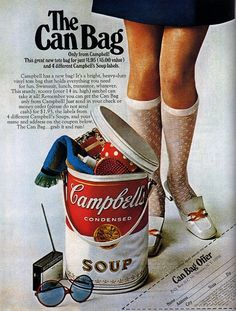 Campbell's Soup - from 20 Truly Remarkable Retro and Vintage Advertisements