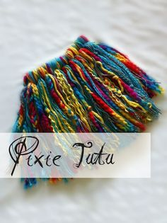 Extra yarn?  What a cute tutu for the pixie in your life!!!