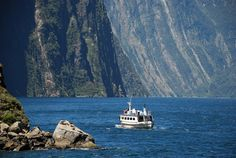 Fiordland National Park - you really DO want it to rain - New Zealand Walking Tours Milford Track, Milford Sound, Marlborough Sounds, Waiheke Island, Crystal Clear Water, New Zealand Travel, Turquoise Water, South Island, Walking Tour