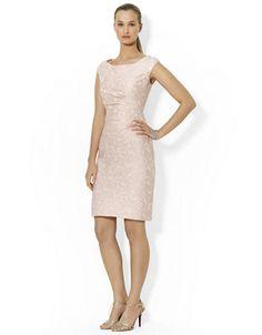 LAUREN RALPH LAUREN Cap Sleeved Jacquard Dress – PINK –http://1tagdeals.com/fashion/shop/lauren-ralph-lauren-cap-sleeved-jacquard-dress-pink-8/