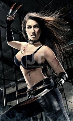 solenn heusaff as laura kinney #CosplayMania: Female celebrities turn into our favorite superheroes   GMANetwork.com - Community - Where Stars and Fans Meet - Photos