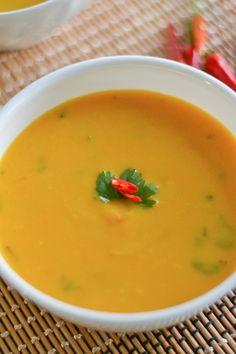 2.  Slow Cooker Thai Pumpkin Coconut Soup.  Used pumpkin puree (2 lg cans) instead of real pumpkin....actually AWFUL.   Tasted like pure pumpkin puree with nothing else.  Never make again.