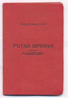 EXPIRED PASSPORT OF KINGDOM OF SHS (YUGOSLAVIA)FROM 1925 IN ORIGINAL HARD COVER  http://www.ebay.com/itm/EXPIRED-PASSPORT-KINGDOM-SHS-YUGOSLAVIA-FROM-1925-ORIGINAL-HARD-COVER-/161106524583?pt=LH_DefaultDomain_0&hash=item2582b279a7