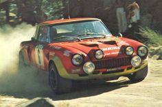 RA Fiat 124 Abarth Portogallo 1970 n.6 ALCIDE PAGANELLI-NINNI RUSSO