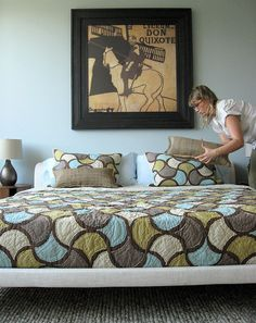 love me some modern quilts