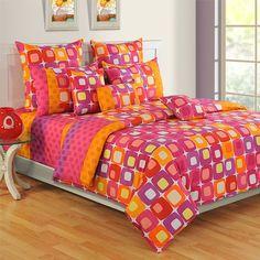 #Multi Squash #ColorsOfLife #BedSheets- 2414