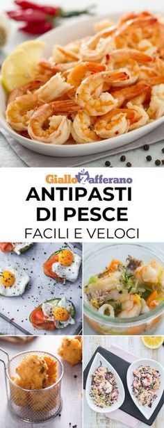Quick and easy fish appetizers: a tasty way to start a lunch or a .- Quick and easy fish appetizers: a tasty way to … - Slow Cooker Fish Recipes, Seafood Recipes, Shrimp Appetizers, Appetizer Recipes, Antipasto, Tapas, How To Cook Polenta, Cereal Recipes, Appetisers