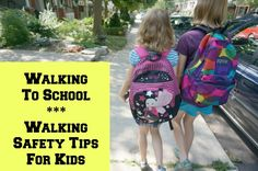 Walking Safety Tips for Kids - An informative list of safety tips for pedestrians...of any age.