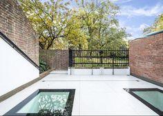 Roof Terrace skylight options