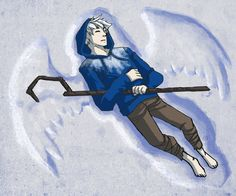 only he could make the perfect snow angel<<<< but he already is a perfect snow angel O_o