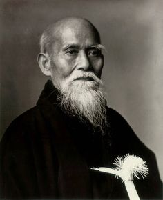Morihei-Ueshiba Morihei Ueshiba (植芝 盛平  December 14, 1883 – April 26, 1969) was a famous martial artist and founder of the Japanese martial art of aikido.