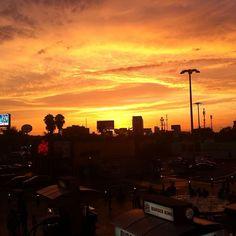 Por do sol limeño ☀️#nofilterneeded #sunset