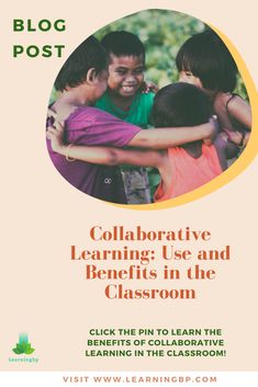 Collaborative Learning: Use and benefits in the classroom. Strategies, activities and relevant examples related to the use of collaborative learning. In this BLOG we present the description of collaborative learning, teacher and student role, classroom activities and their benefits. If you want to learn more about collaborative learning click the pin! #blogpost #collaborativelearning #typesoflearning #learning #constructivism #learningmeaning #educationalpsychology #activities #example  #kids Classroom Management Techniques, Effective Classroom Management, Classroom Management Strategies, Reading Strategies, Student Behavior, Classroom Behavior, Classroom Activities, Educational Theories, Educational Psychology