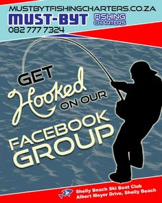 Get hooked on our Facebook group - Must Byt Get Hooked, Ski Boats, Fishing Charters, Deep Sea Fishing, Competition, How To Become, Knowledge, Website Link, Group