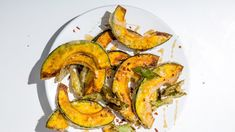 Even though this recipe calls for kabocha squash, you can use acorn squash instead.
