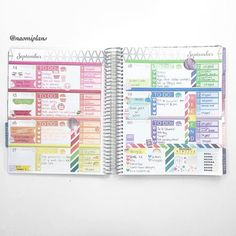 This weeks spread complete in my horizontal life planner! Sorry I haven't been posting much this…