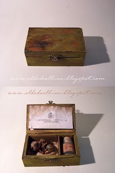 Octavius Zedock s specimen box . Feejee mermaid