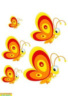 Infant Activities, Math Activities, Math 4 Kids, Visual Perception Activities, Cartoon Butterfly, Sequencing Cards, Butterfly Project, Preschool Centers, Montessori Math