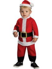 Toddler Boys Lil Santa Costume - Party City