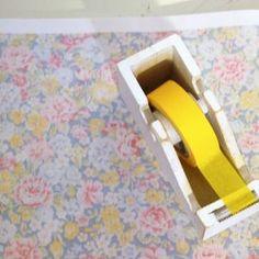 masking tape jaune