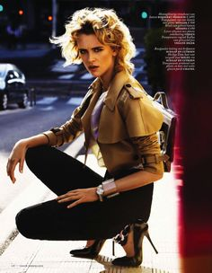 milou van groesen short hair | Milou van Groesen captured by Alique for Vogue Netherlands April 2013 ...